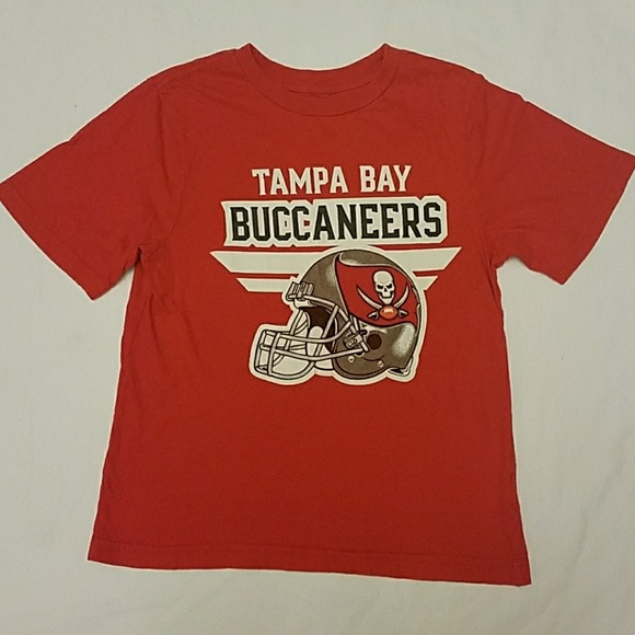 66f95712 Kids Tampa Bay Buccaneers Shirt SIZE 8/10